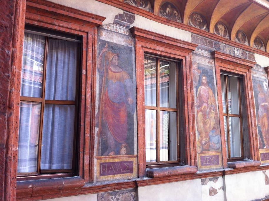 Leonardo da Vinci frescos