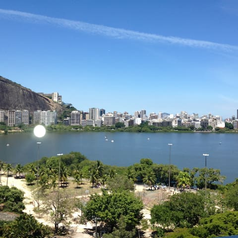 Charming apartment Lagoon front - Rio - アパート