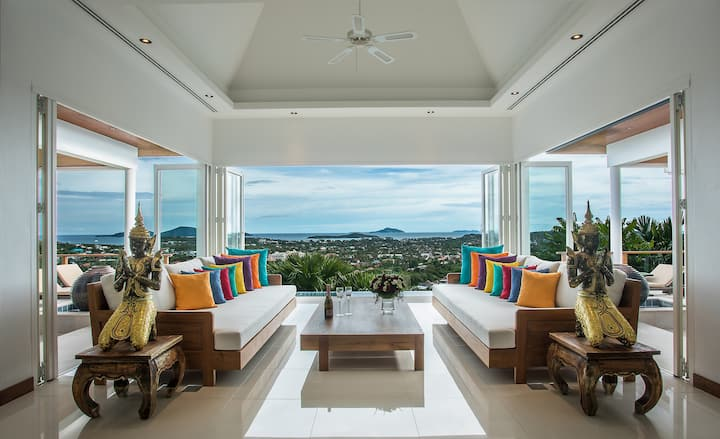 Villa Dusit - Panoramic Sea View 4 Bedrooms