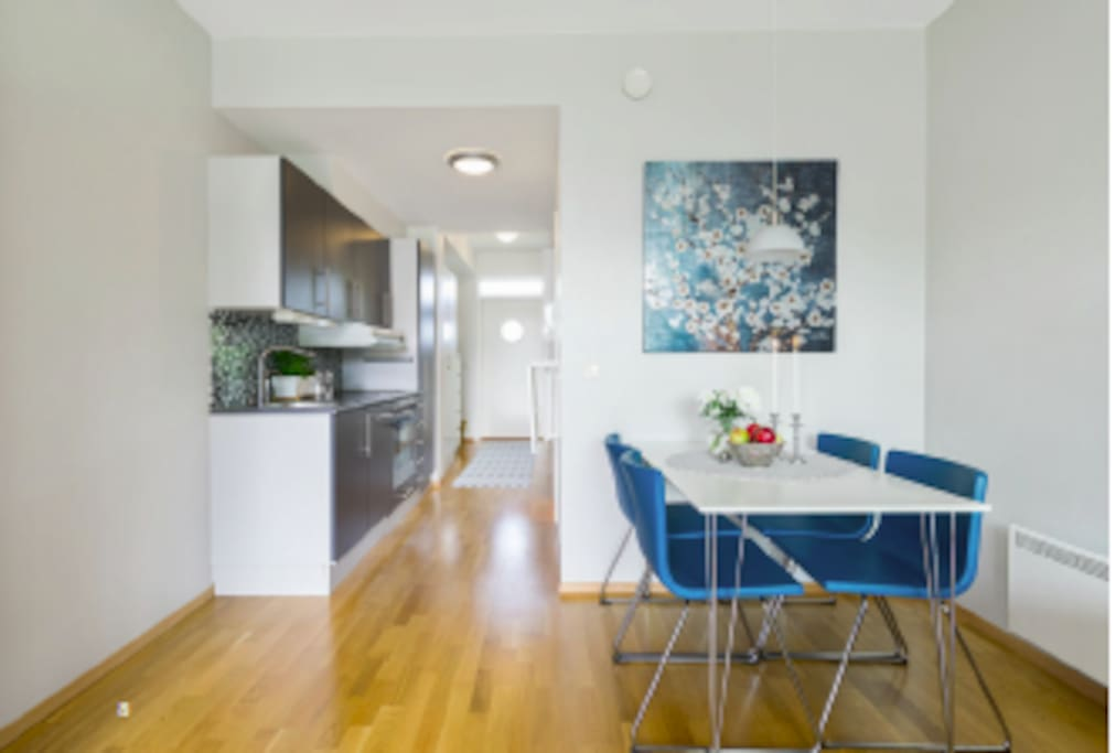 Kitchen w.dishwasher & dining area