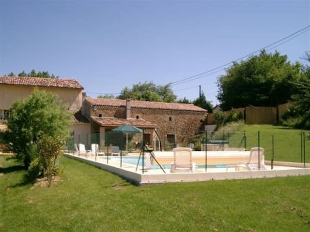 Gites pays cathar pool lake kayak - Chalabre - Appartement