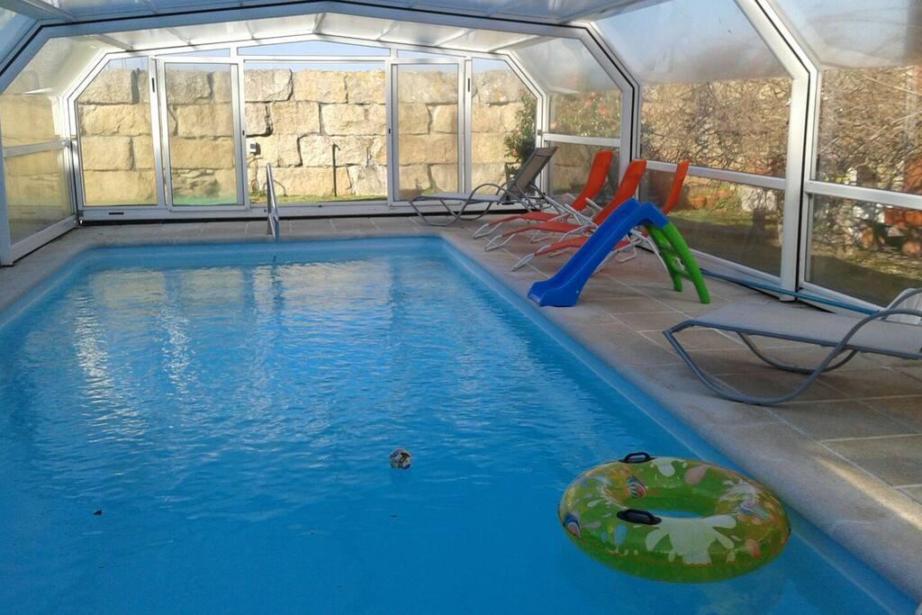 Vivienda con piscina area de reboredo 4 hab - Apartamentos con piscina en galicia ...