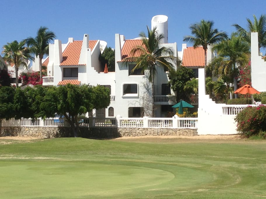 Located on the 1st green,Mayan Palacce golf course facing ocean