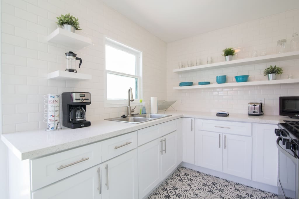 Newly remodeled, high end kitchen