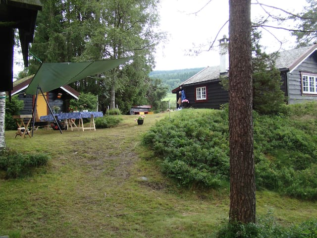 B&B (1-3 people) - Guest-cabin in unique location - Voss - Bed & Breakfast
