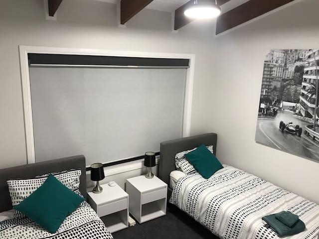 Bedroom 3 - 2 Singles (Upper Level)