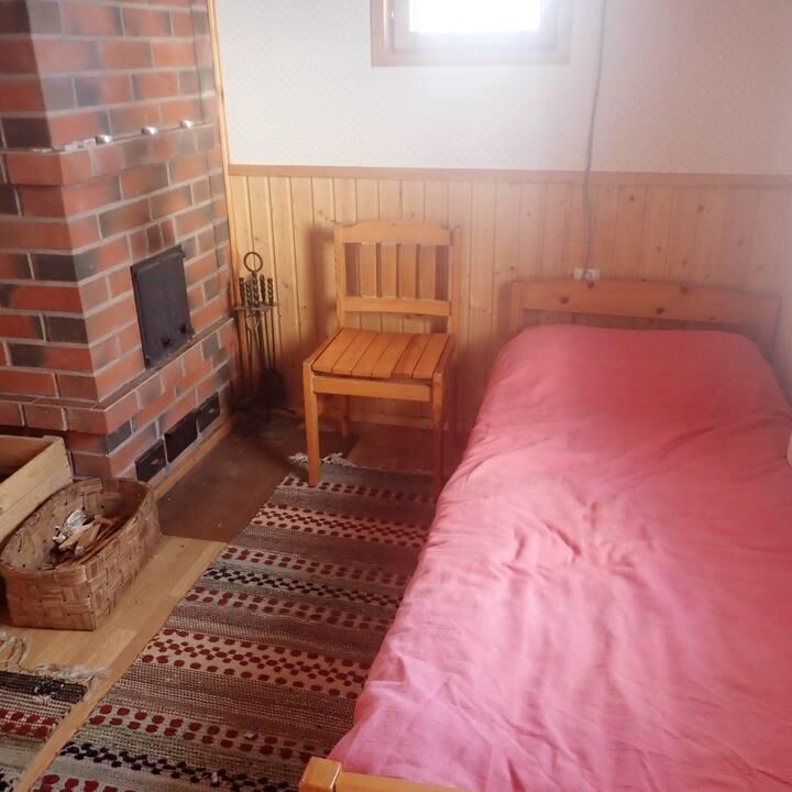 Rauhallinen saunatupa
