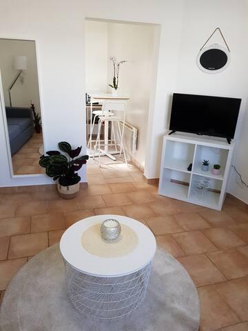 Appartement calme et cossu