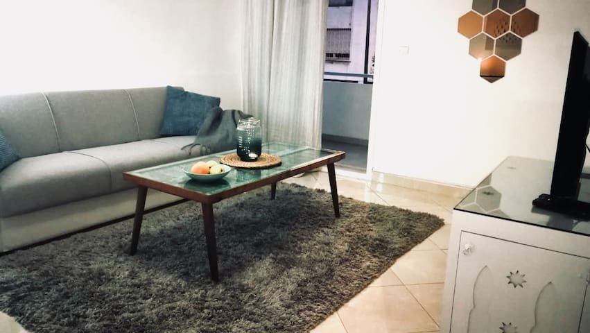 LAU03  Nice appt 75 m2 -in Agdal - with terrace -