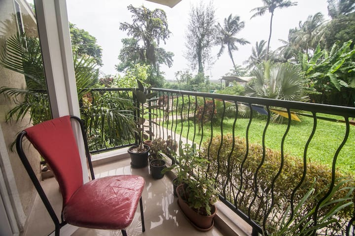 Naturally well-lit ground-floor apartment - Nord-Goa - Wohnung