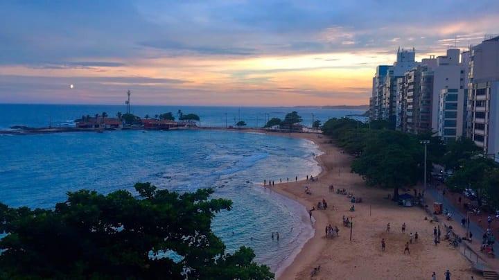 Apartamento com lindo visual do mar de Guarapari