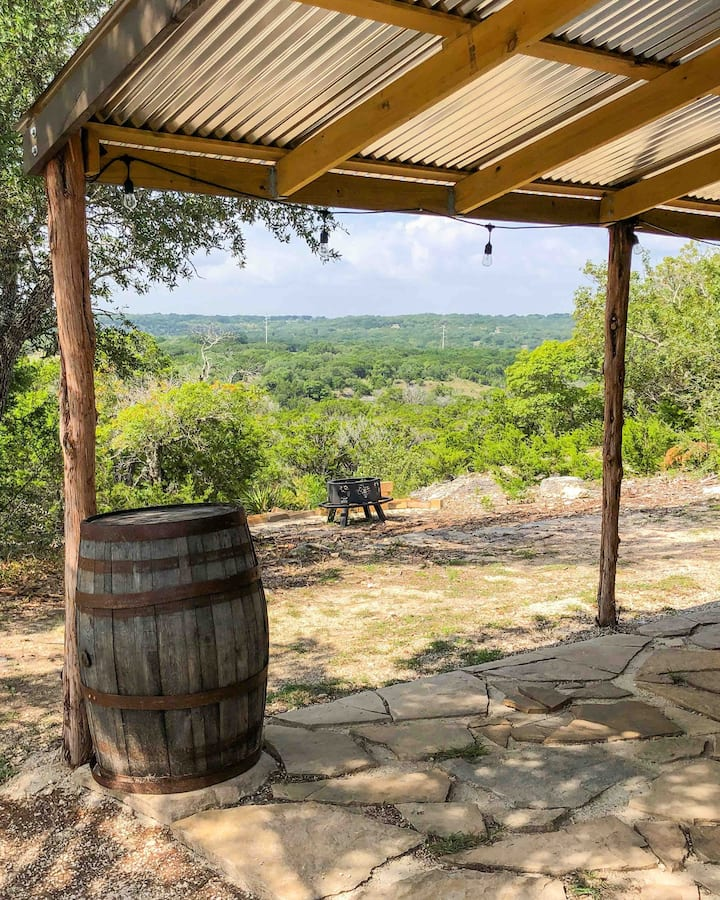 Backwoods BNB in Dripping Springs TX on 23 acres