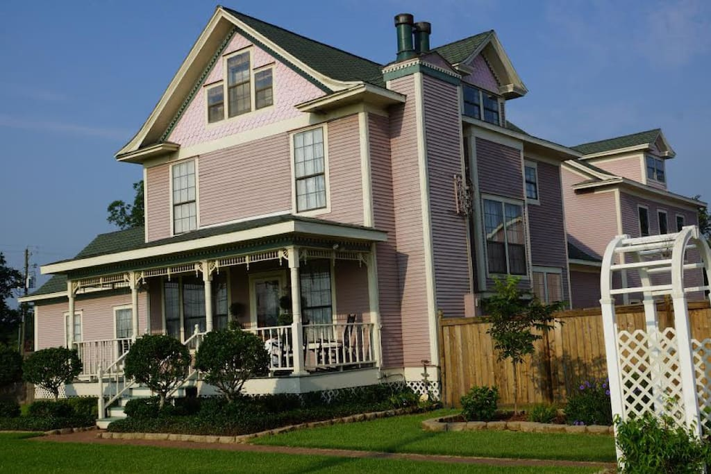 Wyman house bed breakfast bed and breakfasts for rent for Hotels in la porte tx