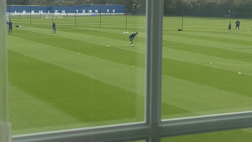 Room with views of Ipswich Town Training Ground