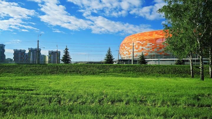 1-комнатная кв-ра на Волгоградской около стадиона