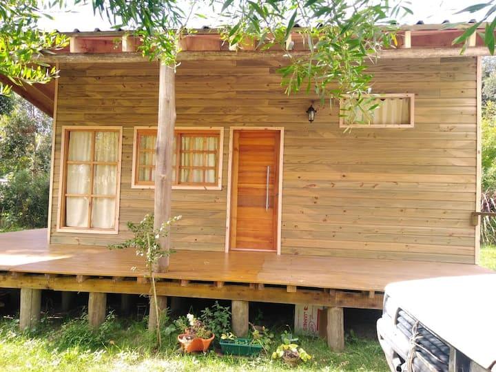 Cabaña Relax en la naturaleza, cercana a servicios