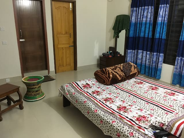 Cozy air conditioned room in Sylhet