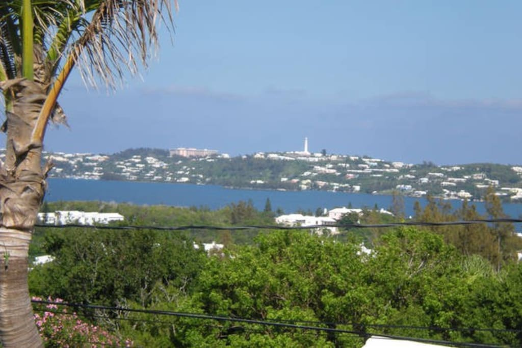 Sea View from 'Sea View' One bedroom Apartment & 'Harbour Ocean View' Studio Suite