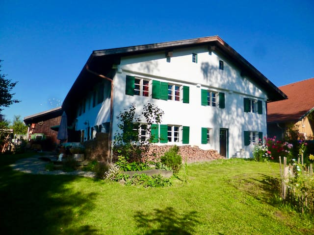 "Cozy and charming apartment in ""Allgäu""! - Biessenhofen - Daire"