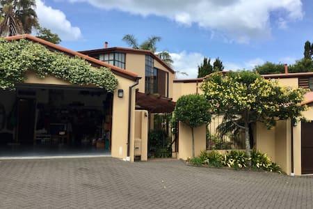 Takapuna Townhouse, 1 twin bedroom - Auckland - Casa adossada