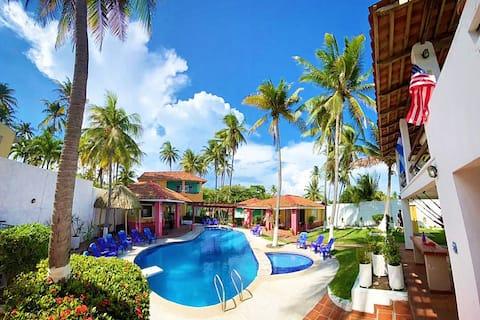 Villa Marbello - Beachfront/Rancho de Playa