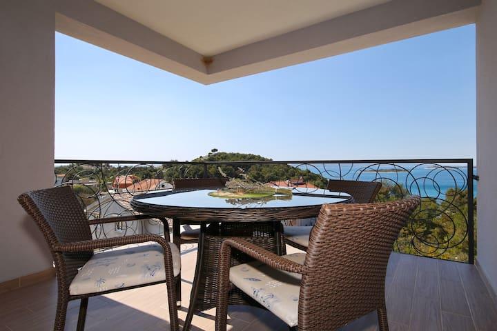 Villa Oleandra Apartments Drage **** N1 - Drage - Apartment