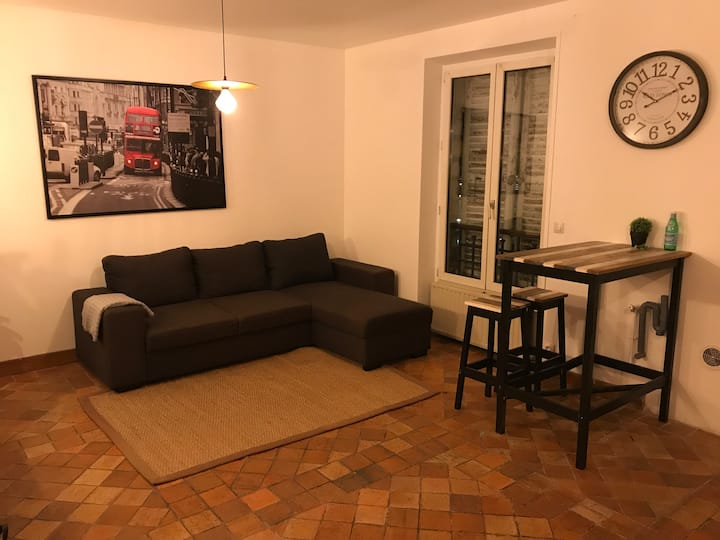 Appartement 2-4 personnes à 15min de Paris