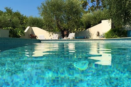 Loft Ouliva 3 P- piscine chauffée - Saint Martin du var