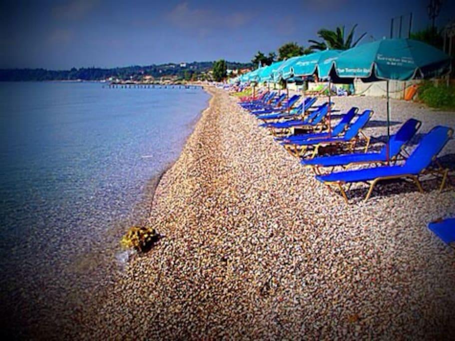 The beautiful Ipso's beach