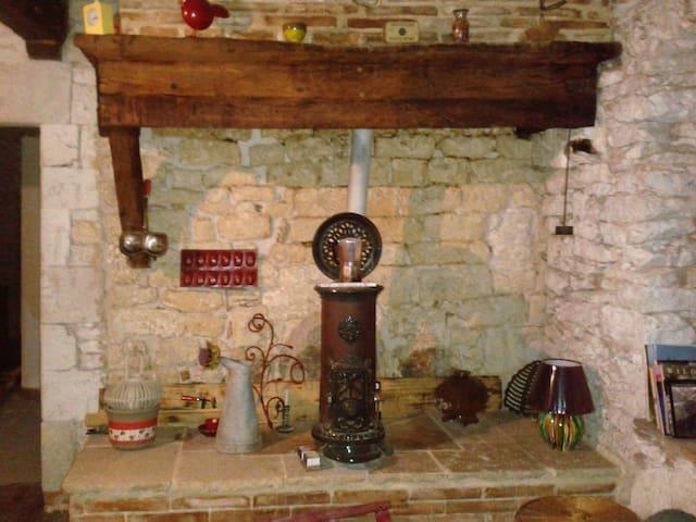 Charmante maison de village à 10 km d'Albi. - Cagnac-les-Mines - Casa