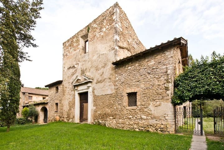 Historic house Conventino ground f. - Mentana - Leilighet