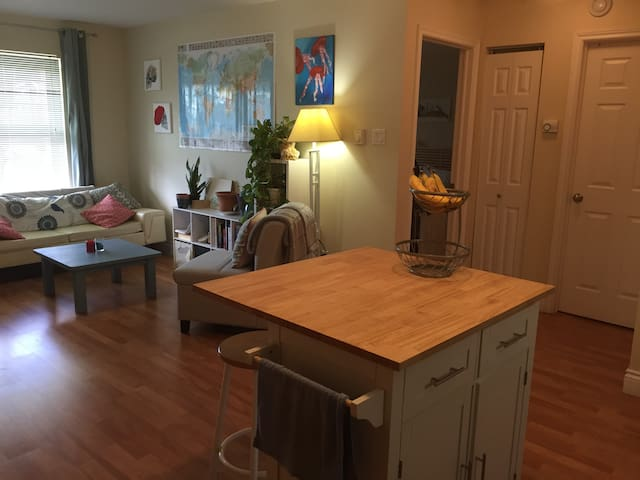 PERFECT LOCATION 1BR APT in Downtown Moncton - Moncton - Apartamento