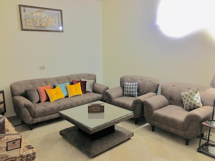 Comfortable and neat place for stay with family