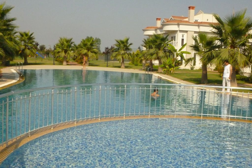 1500 SQUARE METERS IN FRONT of your villa with pool and kids pool