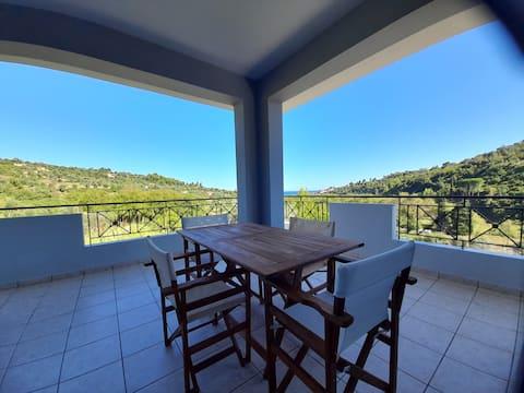 Ολόκληρος χώρος: View house,   Platana Kymi Evoia