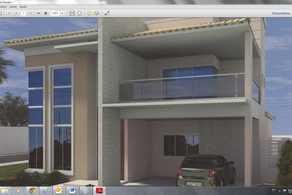 Picture house design, with delivery to April 30.
