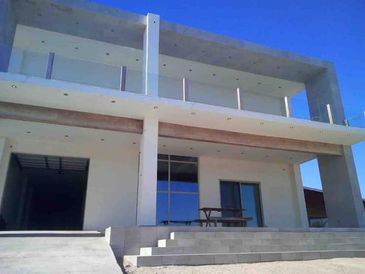 Casa frente al Mar en Puerto Lobos Sonora Mexico