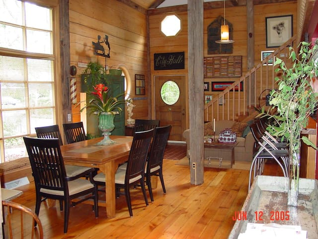 Dining Room Area Front Door