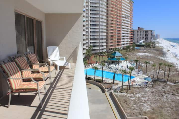 Gulf-front2BR; 3Pools; Sleep8;-D502