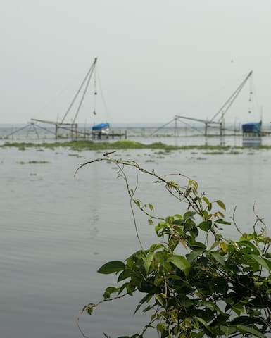 orchidlakeview homestay - Alappuzha - Dům