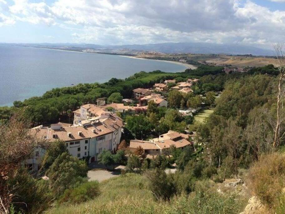 villaggio dall alto