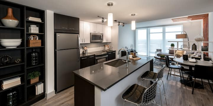 Well-equipped apartment home | Studio in Tyson