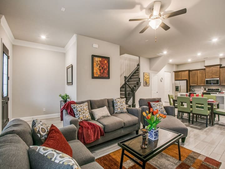 Luxury-Brand New 3Bedroom Furnished House-Allen TX