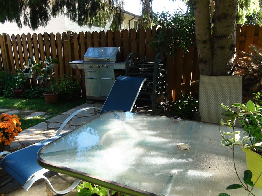 Barbecue at the backyard