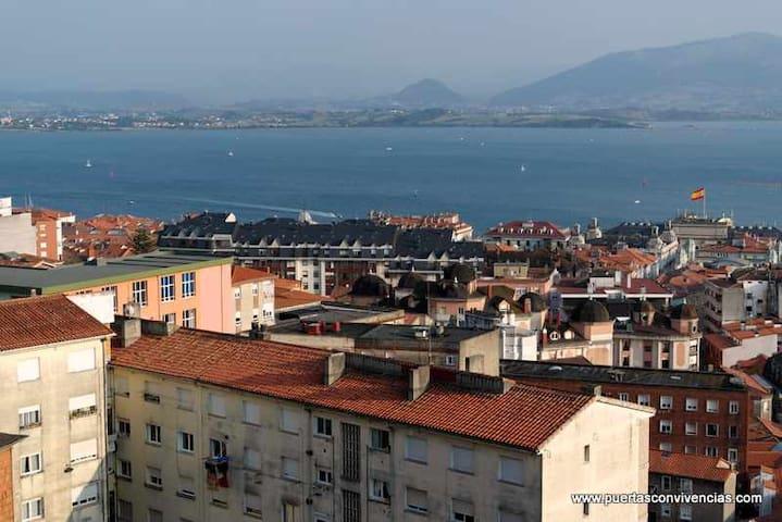 Funicular Vistas al mar + parking - Santander - House
