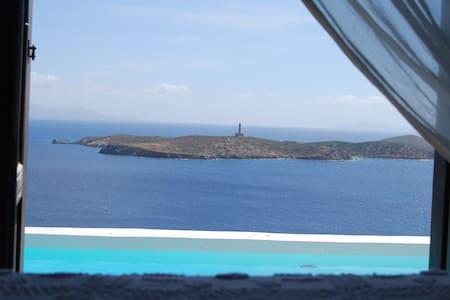 VILLA ZEN SYROS GREECE - Siros - Rumah
