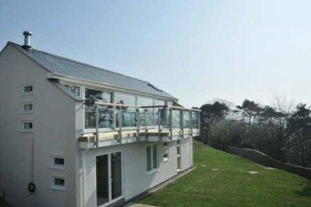 lovely sea views of Cardigan Bay - Aberdovey - Haus