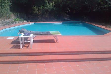 Villa e Mulino del '600 con Piscina - Montemagno,Calci