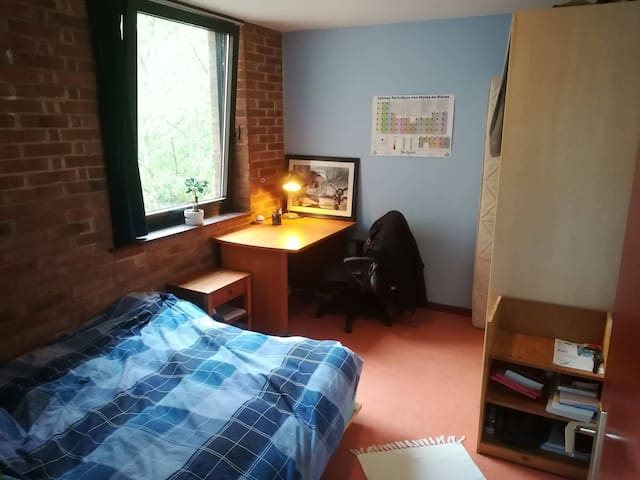 Flat room in the center, 30 min away from Brussels
