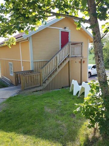 Lägenhet på landet nära Sundbyholm